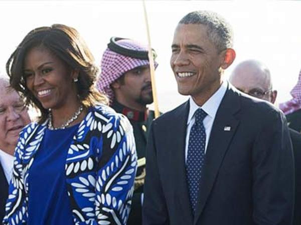 Tak Pakai Penutup Kepala Saat Berkunjung, Michelle Obama Dikritik Warga Arab Saudi