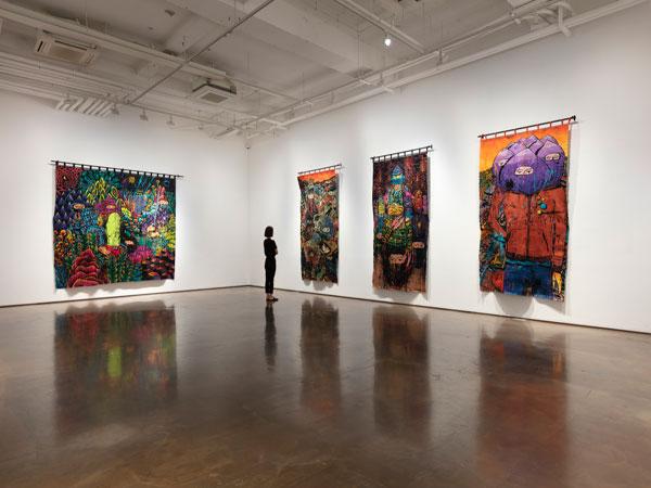Seniman Indonesia Gelar Pameran Seni Lukisan Bordir di Korea Selatan