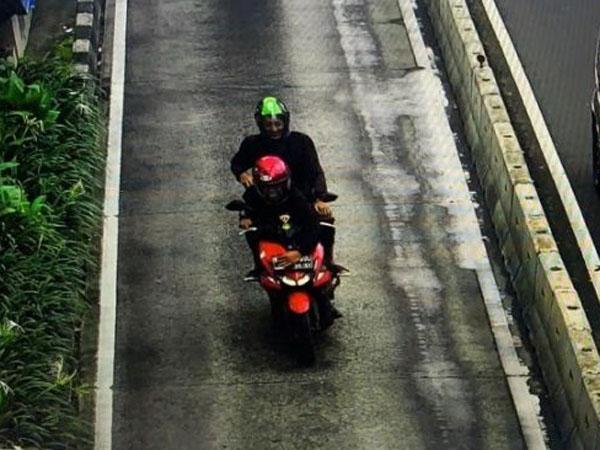 Pemotor Hindari E-Tilang dengan Tutup Plat Sambil Tertawa, Polisi: Akan Kami Profiling!