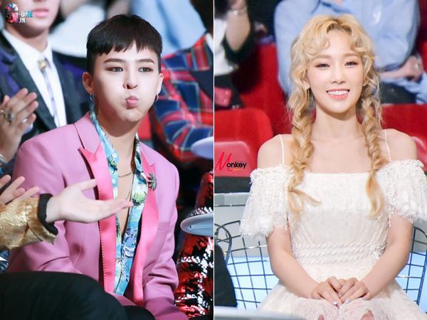Pernah Dirumorkan Pacaran, G-Dragon Ketahuan Tiru Ekspresi Lucu Taeyeon di MAMA 2015