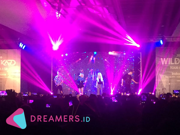 K.A.R.D Sukses Puaskan Fans di Konser Perdana #WildKardTourinJKT