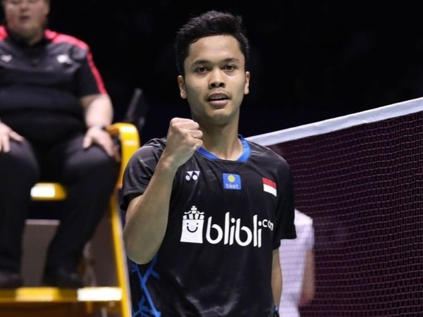 Bangga! Anthony Ginting Juarai China Open 2018