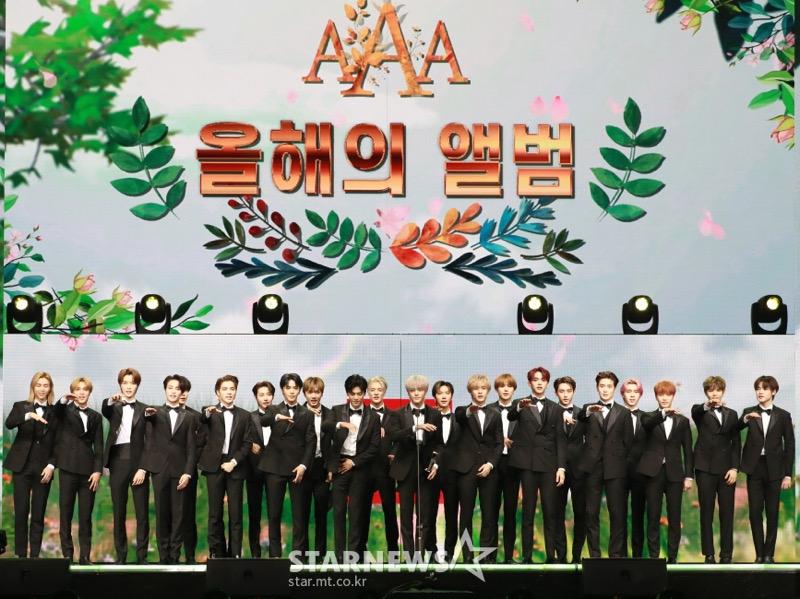 NCT Formasi 23 Member Raih Daesang Pertama di Asia Artist Awards 2020