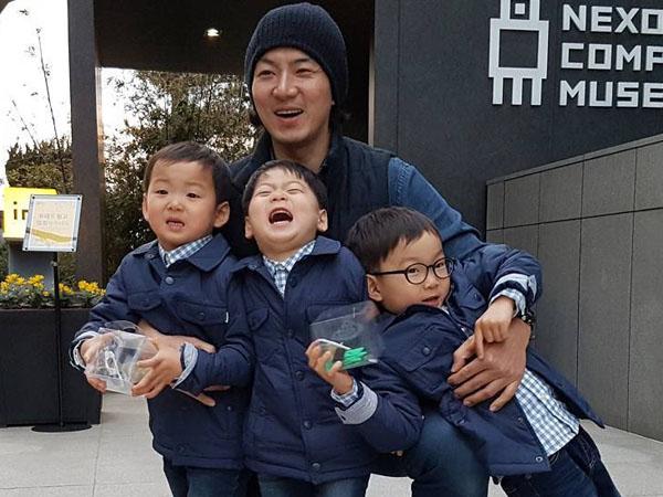 Dirindukan, Song Triplet Bakal Ikut Sang Ayah Hadir di Variety Show 'Unnie, Slam Dunk'?