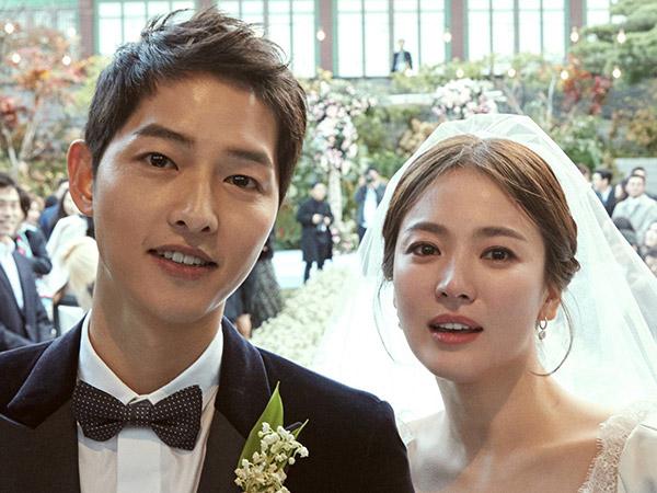 Super Serasi, Song-Song Couple Bagikan Foto Pernikahan Bergaya Klasik nan Elegan