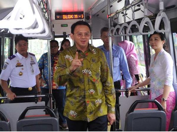 Ahok Ingin Transjakarta Kuasai Semua Rute Bus di DKI Jakarta