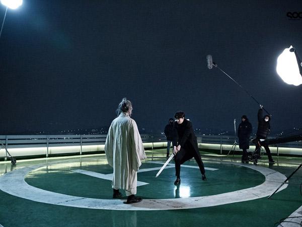 Mengintip Di Balik Layar Syuting Adegan Pertarungan Gong Yoo di Drama 'Goblin'