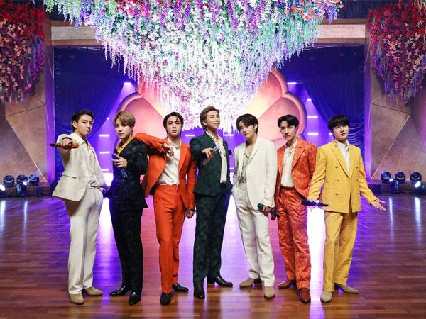 Penampilan Megah BTS di Grammy Awards yang Jadi Highlight