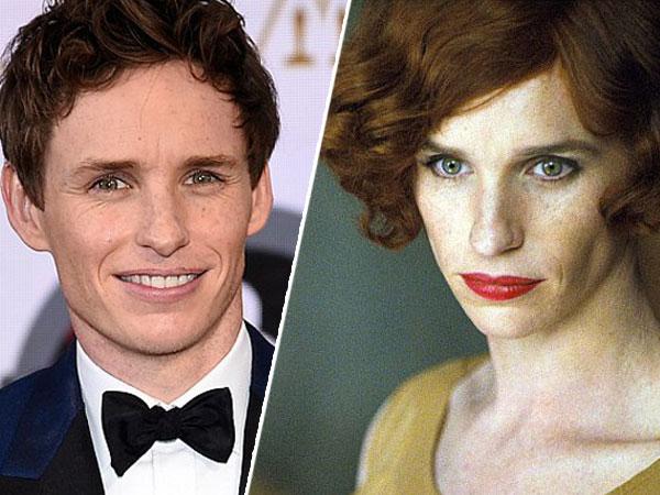 Dapat Oscar, Eddie Redmayne Langsung Tampil Sebagai Transgender