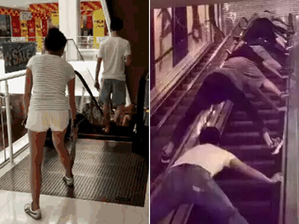 Takut Insiden 'Tertelan Eskalator' Terulang, Warga Cina Lakukan Tindakan Pencegahan Ekstrim