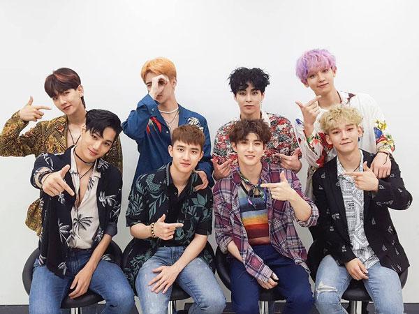 EXO Cetak Rekor Baru untuk Penjualan Album 'The War' di Minggu Pertama
