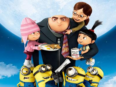Despicable Me 2, Kalahkan Film Johnny Depp