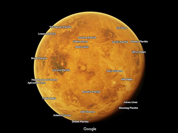 Google Maps Kini Bisa Jelajah Planet Luar Angkasa, Begini Caranya!