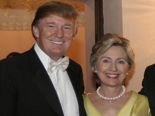 Saingan Berat, Donald Trump Beri Pesan Diplomatik Manis Terkait Pneumonia Hillary Clinton
