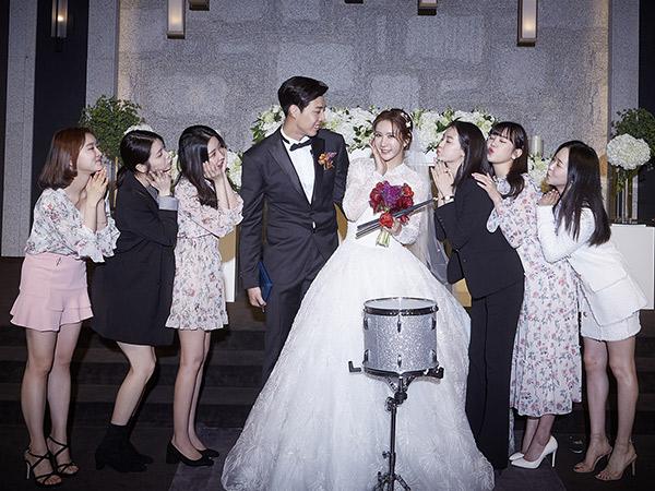 JungAh eks After School Resmi Dinikahi Pebasket Lebih Muda, Intip Kemeriahan Pernikahannya
