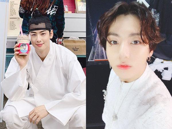 Squad Goals, Jungkook BTS Susul Mingyu SEVENTEEN Kirim Dukungan untuk Eunwoo ASTRO