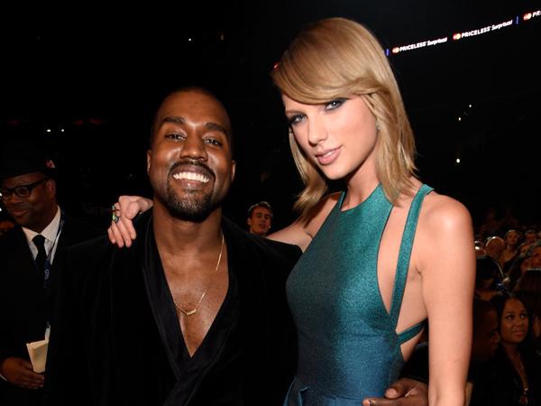 Taylor Swift Enggan Kolaborasi dengan Kanye West di Album Barunya?