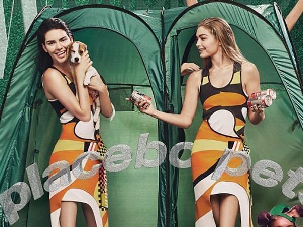 Ups, Ada yang Aneh di Pemotretan 'Kembar' Kendall Jenner dan Gigi Hadid Ini!