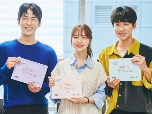 Kwon Hwa Woon, Minah dan Ahn Woo Yeon dalam Pembacaan Naskah Drama Baru