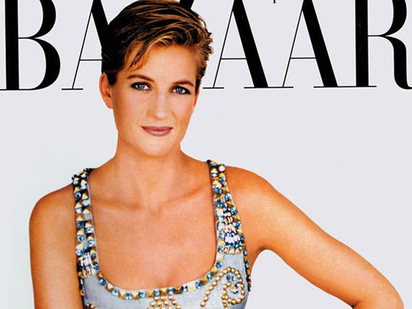 Dress yang Dikenakan Putri Diana untuk Pemotretan Harper's Bazaar Terjual Miliaran Rupiah!