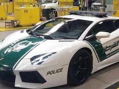 Wow, Polisi Dubai Pakai Lamborghini Aventador untuk Patroli