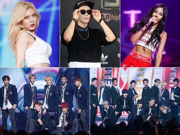 Para Idola K-Pop Ini Tutup Daftar Bintang Tamu yang akan Hadir di MAMA 2015