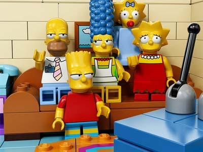 Wow, The Simpson Akan Buat Episode Spesial Lego!