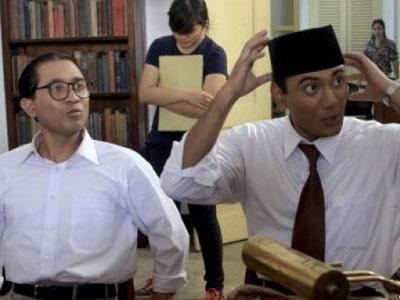 Lukman Sardi Acuhkan Kontroversi Film Soekarno