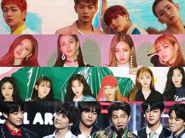 Momen Bersejarah nan Gemilang K-Pop Cetak Prestasi Lokal Hingga Internasional di 2018 (Part 2)