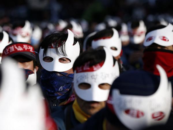 Protes Besar-Besaran, Presiden Korea Selatan Samakan Demonstran Dengan Anggota ISIS