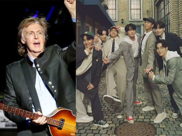 Seperti The Beatles, Paul McCartney Mengaku Nikmati Perjalanan BTS