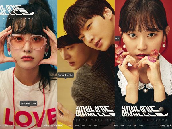 Drama 'Love with Flaws' Rilis Poster Karakter, Gambarkan Sifat Unik Masing-masing