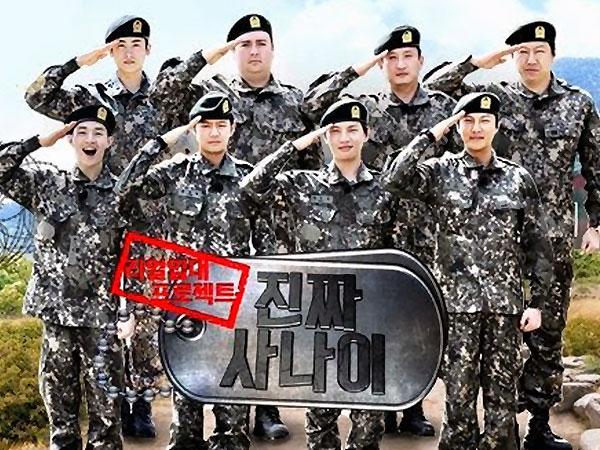 Variety Show MBC 'Real Men' Siap Latihan Militer di Negara Lain!