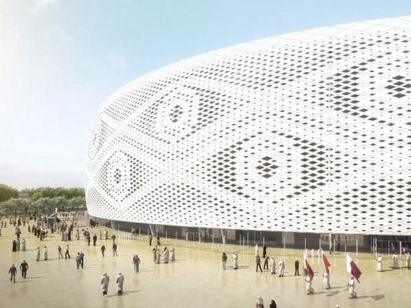 Jelang Piala Dunia 2022, Qatar Bangun Stadion yang Mirip Kopiah Tradisional?