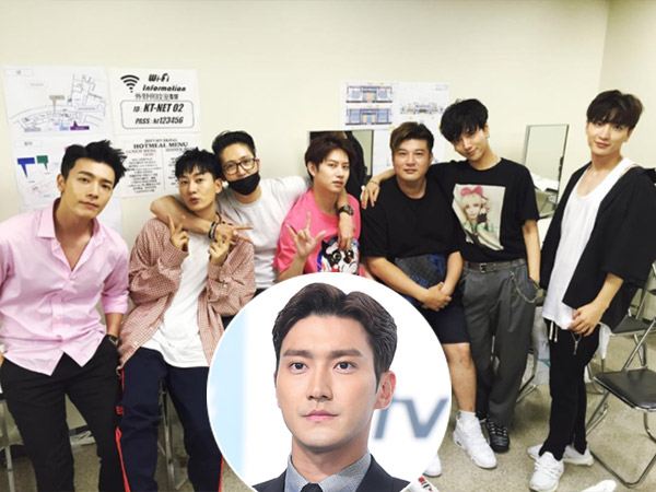 Super Junior Syuting Variety Show 'Knowing Brothers' Tanpa Siwon
