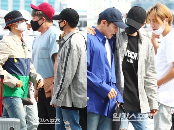 Momen Keberangkatan 7 Member Super Junior Menuju Indonesia Jelang Konser #SS7SinJKT