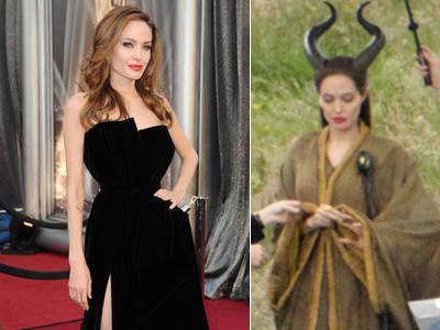 Berkostum Nenek Sihir, Angelina Jolie Buat Anak-Anak Menangis