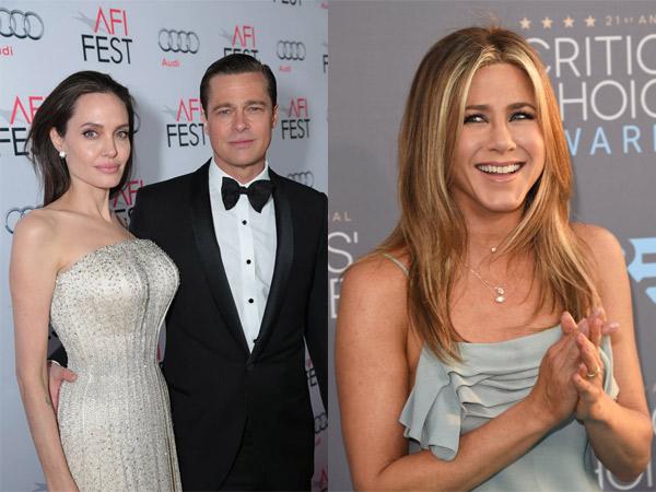 Angelina Jolie dan Brad Pitt Pisah, Inikah Karma Menurut Jennifer Aniston?