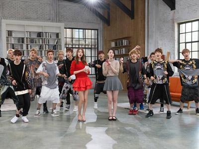 Simak Keceriaan EXO Bersama YoonA SNSD dan Sulli f(x) Dalam Iklan Terbaru Mereka!