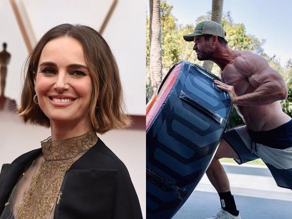 Natalie Portman Singgung Chris Hemsworth dan Perannya di Film 'Thor: Love and Thunder'