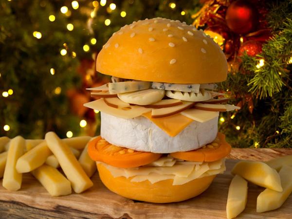 Burger Ini Dibuat dari 9 Jenis Keju Berbeda, Berani Coba?