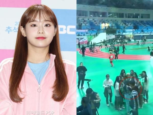 MBC Minta Maaf Atas Insiden Rambut Chuu LOONA Ditarik Staf ISAC 2020