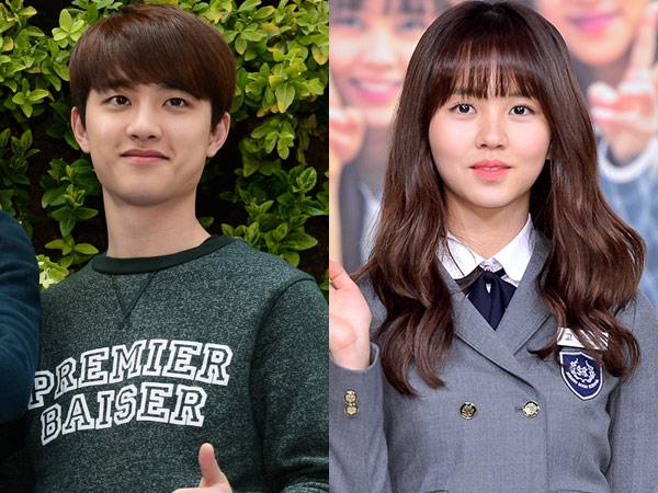 D.O EXO dan Kim So Hyun akan Saling Jatuh Cinta di Film Terbaru