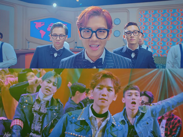So Groovy, EXO-CBX Sajikan Keceriaan dan Transformasi di MV Debut 'Hey Mama'!