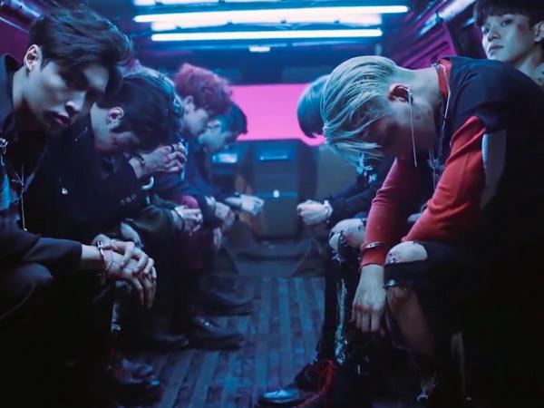 EXO Tampil Penuh Pemberontakan dan Rasa Terobsesi di Video Musik 'Monster'