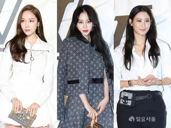 Gaya Menawan Jessica Jung Hingga Han Ye Seul Hadiri Acara Louis Vuitton Korea