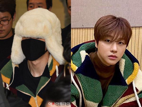 Jimin BTS dan Jinhwan iKON Pakai Oversized Coat Kembar, Siapa Paling Gemas?