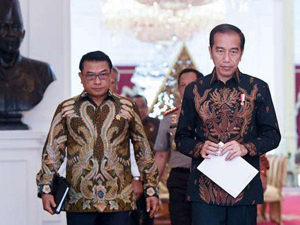 Kelompok-kelompok Telah Di-Mapping, Moeldoko Sebut Ada Pihak yang Tak Ingin Jokowi-Prabowo Bertemu