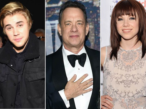 Tom Hanks dan Justin Bieber Jadi Model di MV Comeback Carly Rae Jepsen!