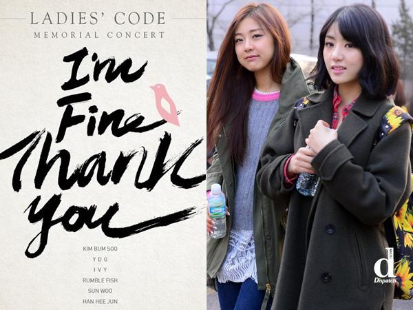 Agensi Ladies Code Ungkap Detail Konser Penghormatan untuk Mendiang EunB dan RiSe